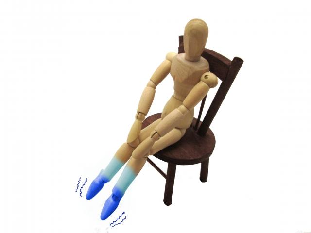 手足が冷えるタイプ